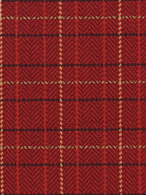 054671 Scottish Twill Scarlet by Robert Allen