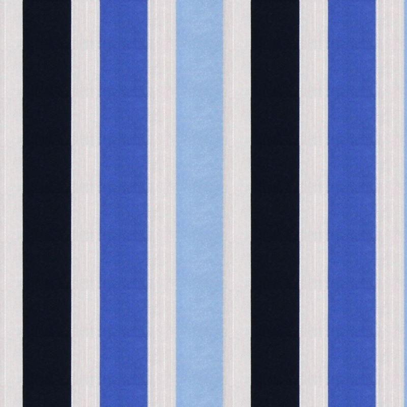 227824 Vivid Stripe Cobalt by Robert Allen