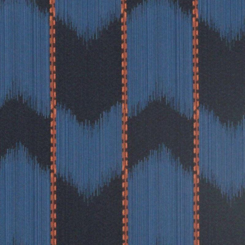 231143 Ikat Satin Indigo by Robert Allen