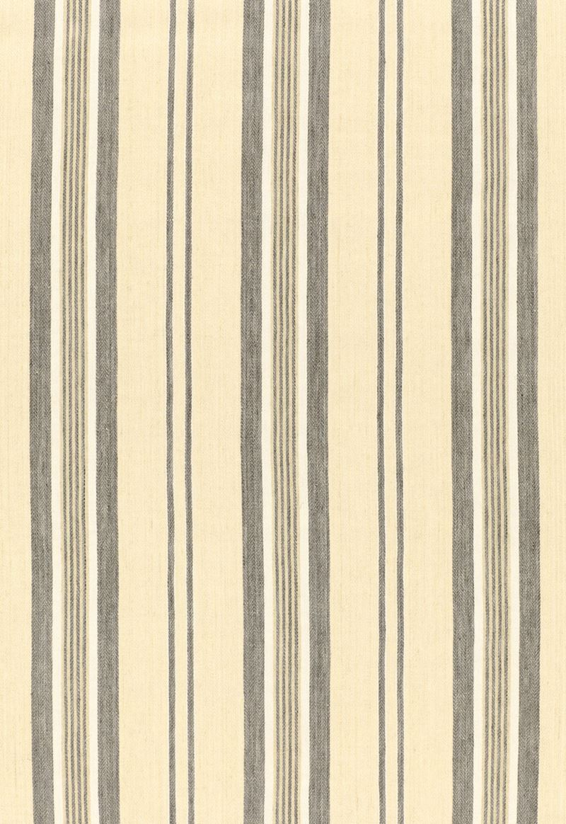 54154 Sagaponic Linen Stripe Denim by F Schumacher