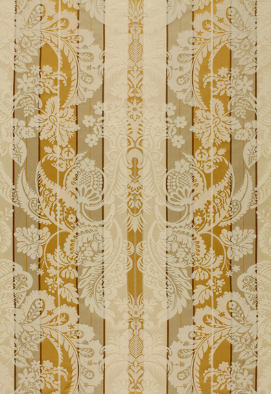 64390 Savannah Imberline Damask Bronze by FSchumacher
