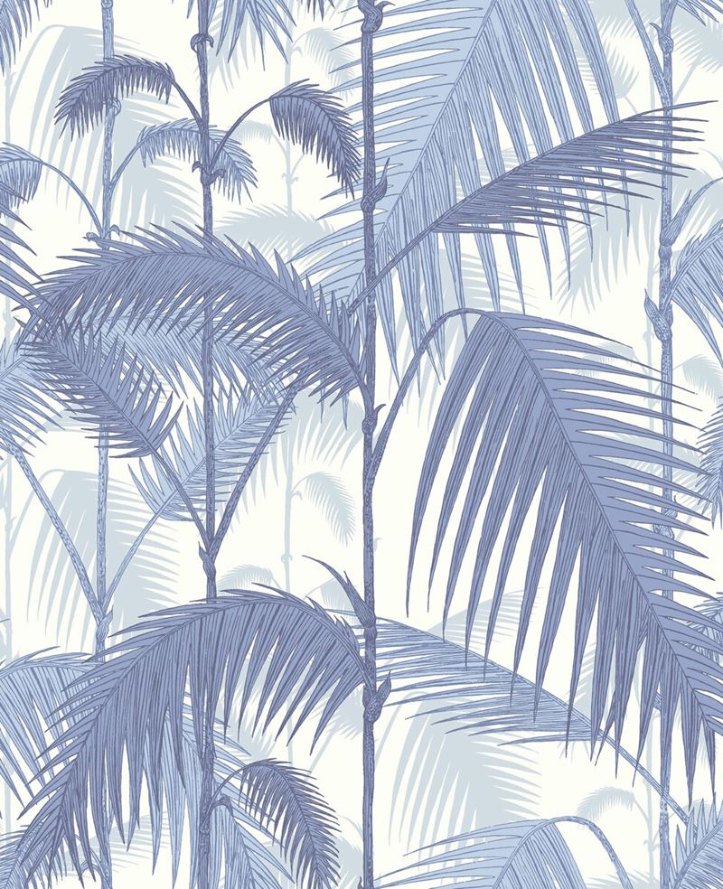 95/1005.CS Palm Jungle Blues/ White by Cole & Son