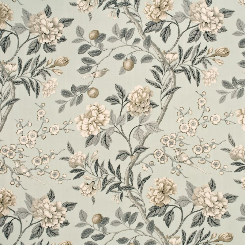 BP10310.2 Emperor's Garden Soft Blue/Grey by G P & J Baker
