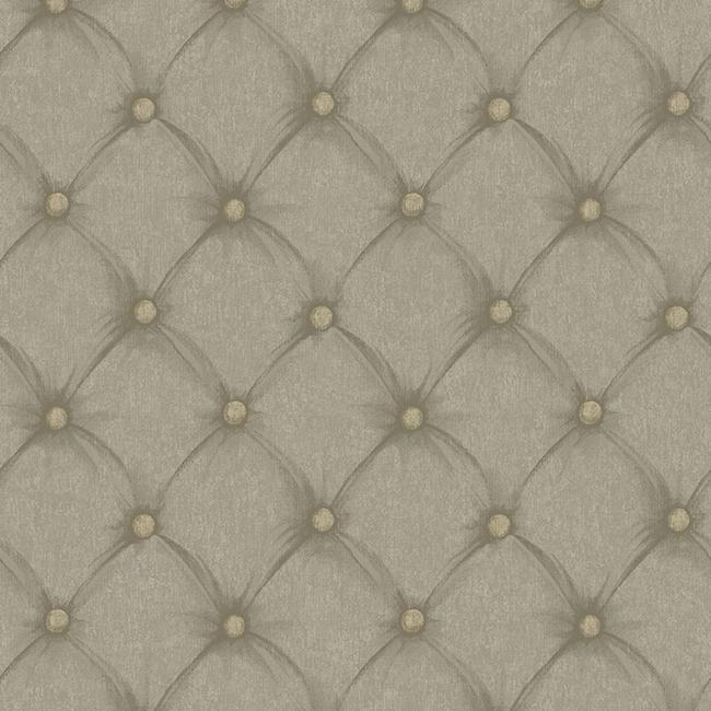 Saint Augustine Tufted Fabric BQ3908 Beige Wallpaper ...