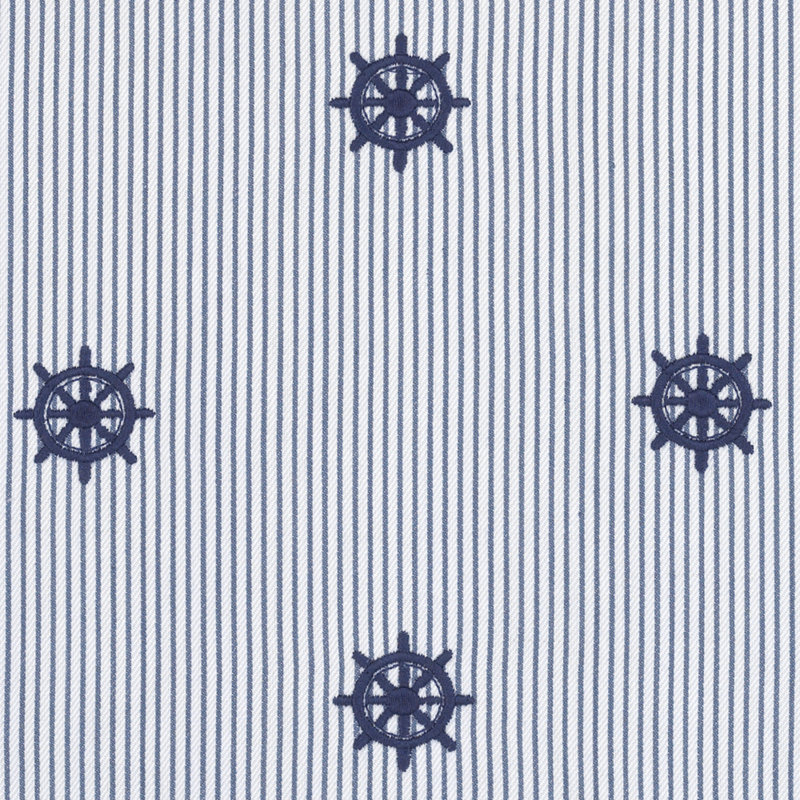 LCF62305F Captain's Wheel Tick Deck Blue by Ralph Lauren