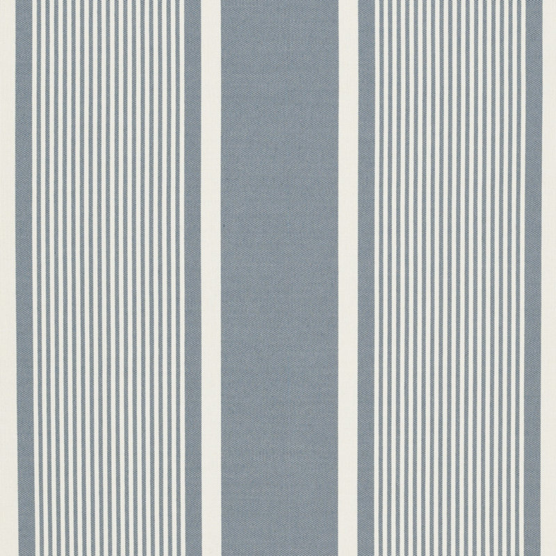LCF64760F Boaters Bay Stripe Chambray by Ralph Lauren