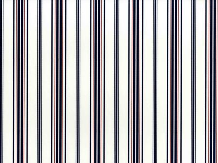 LWP62177W Picket Fence Stripe White/Navy by Ralph Lauren