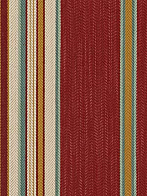 047781 Twill Stripe Bermuda Rouge by Beacon Hill