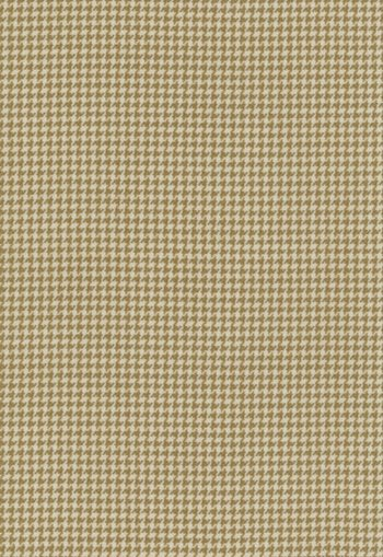 55140 Langley Houndstooth Nutmeg by FSchumacher