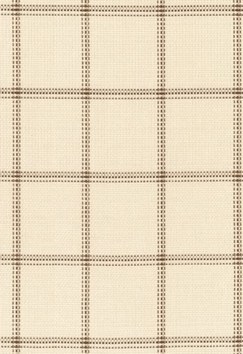 62410 Woodland Plaid Sand by FSchumacher