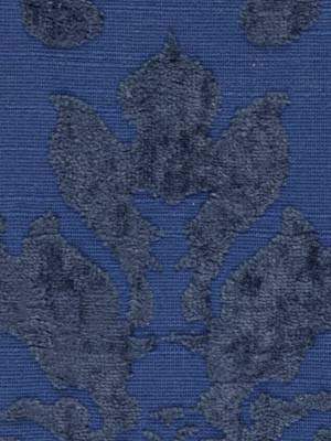 Linen Damask Indigo by Beacon Hill