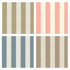 Trend Fabric Book Satin Awning Stripe