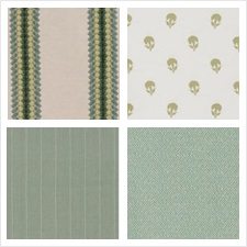 Robert Allen Fabric Book Lettuce Jade Butternut