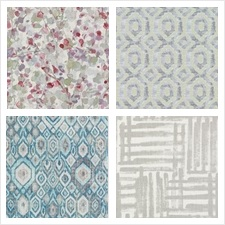 Duralee Fabric Collection Folie Prints