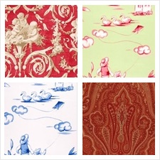 Duralee Fabric Collection Simple Pleaseures Print