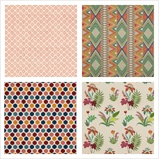 Baker Lifestyle Fabric Collection Fiesta