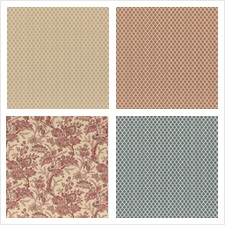 G P & J Baker Fabric Collection Coromandel