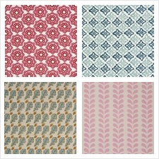 Schumacher Fabric Collection Molly Mahon Hand Block Prints