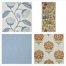 Schumacher Fabric Collection Exquisite Embroideries