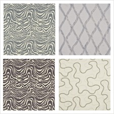 Threads Fabric Collection Meander