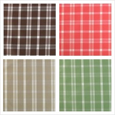 B. Berger Fabric Collection Sutton Plaids