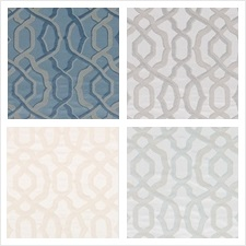 Beacon Hill Fabric Pattern Milano Trellis