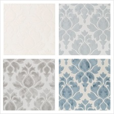 Beacon Hill Fabric Pattern Venetian Frame