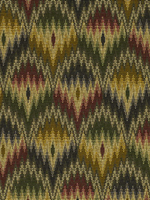 Flame Stitch Amber By Robert Allen Fabric
