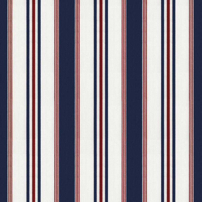 LCF20853F Highrock Stripe Red/White/Blue by Ralph Lauren