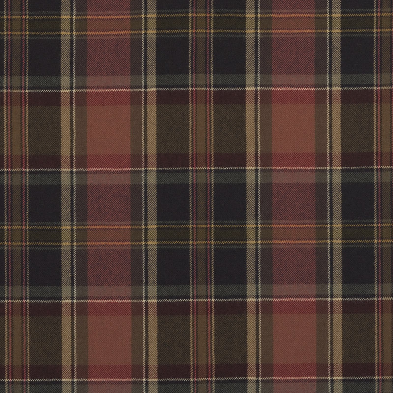 Lfy61153f Ian Plaid Balmoral Red By Ralph Lauren