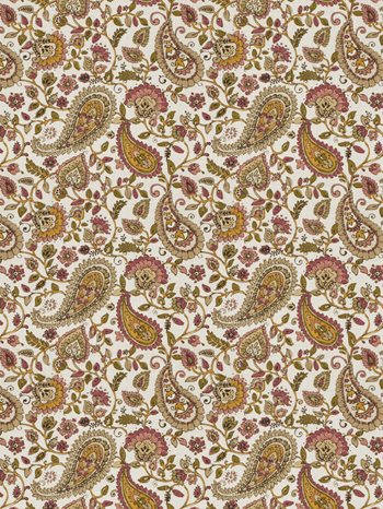 0135104 Almost Alright Mulberry by Fabricut