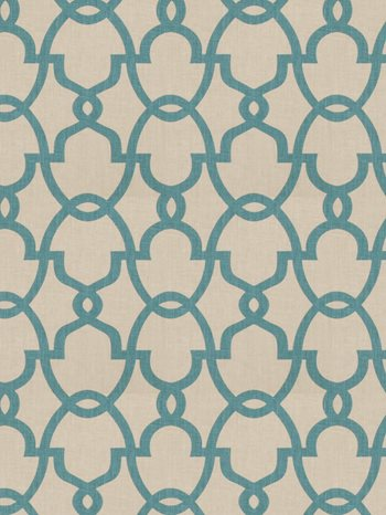 0156902 The Dance Teal by Fabricut