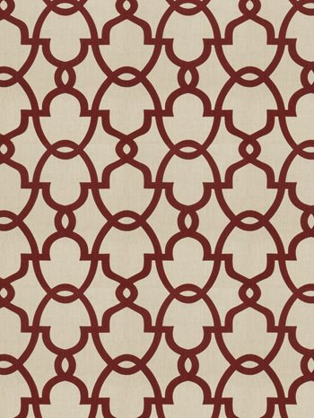 0156904 The Dance Claret by Fabricut