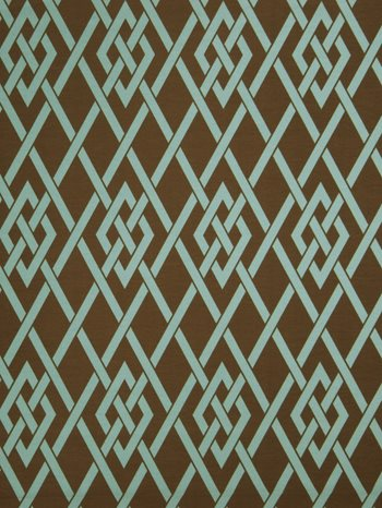 0194001 Sherry Teal by Fabricut