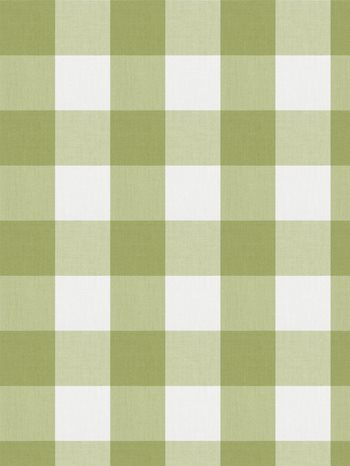 0277810 Camping Check Celery by Fabricut