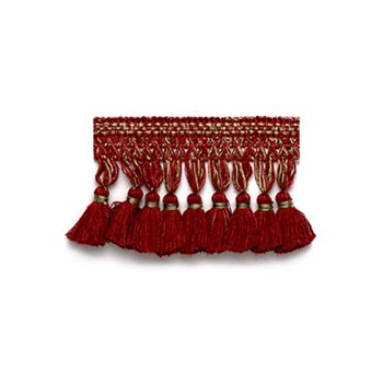 038133 Villa Trim Borghese Red by Robert Allen