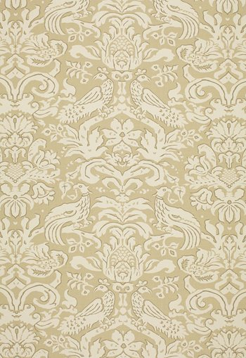 1328001 Aldwyn Damask Oatmeal by FSchumacher