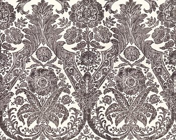 16557-004 Luciana Damask Print Graphite by Scalamandre