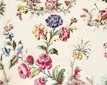16584-001 Somerset Linen Print Bloom by Scalamandre