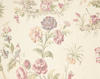 16585-001 Somerset Silk Warp Print Bloom by Scalamandre