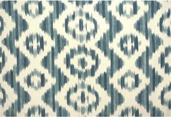 2007156.51 Ikat De Lin Blue by Lee Jofa