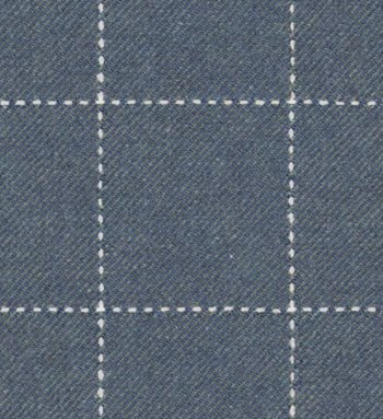 2009138.515 Windowpane Wool Blue by Lee Jofa