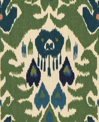 2012144.350 Marco Polo Green/Navy by Lee Jofa