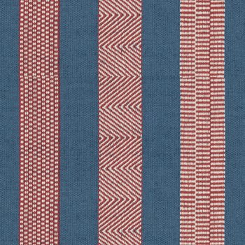 2017100.519 Berber Denim/Ruby by Lee Jofa