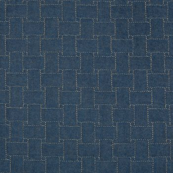 2017140.5 Epping Quilt Blue by Lee Jofa