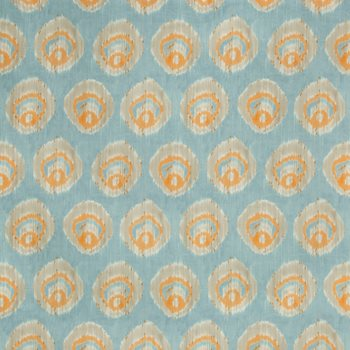 2018141.125 Monaco Print Aqua/Melon by Lee Jofa
