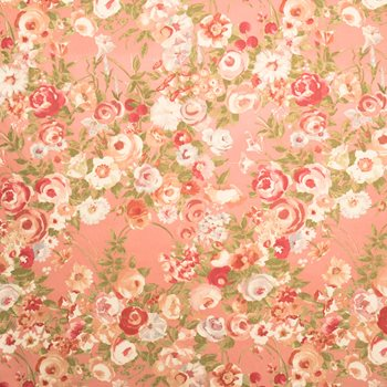 2090402 Woodland Rose Coral Garden by Fabricut