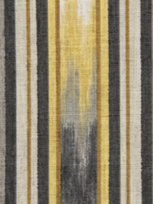 217305 Ikat Stripe Greystone by Robert Allen