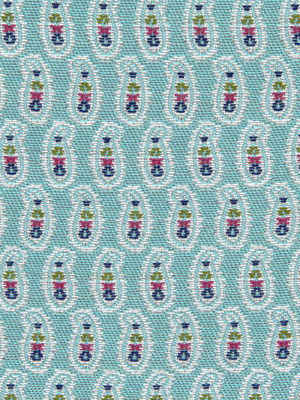 227955 Small Paisley Turquoise by Robert Allen