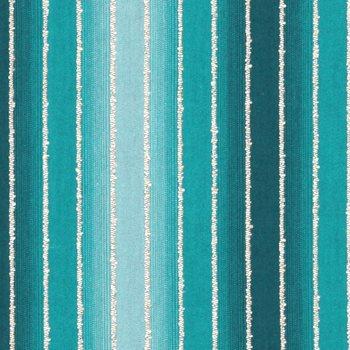 228207 Tie Dye Stripe Turquoise By Robert Allen